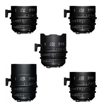 Rent Sigma Cine FF High Speed Primes (20,24,35,50,85)