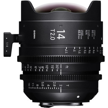 Rent Sigma 14mm T2.0 FF High-Speed Prime (PL Mount, Feet)