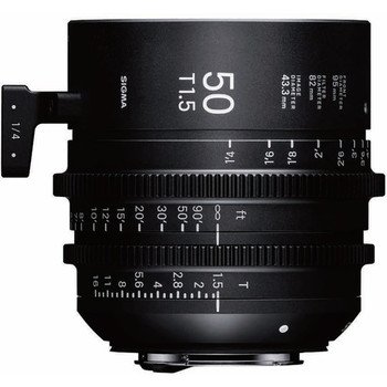 Rent Sigma 50mm T1.5 FF High-Speed Prime (PL Mount, Feet)