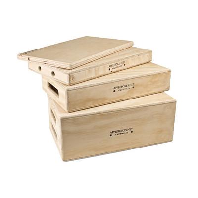 Alan gordon enterprises 1065 set set of four appleboxes 1386794585000 1019058