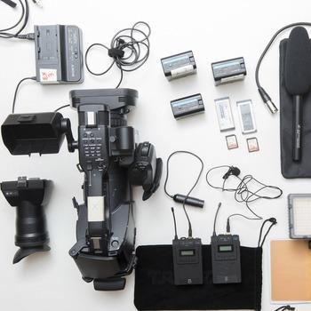 Rent Sony PMW-EX3 Kit with Lav Mic + LED Light