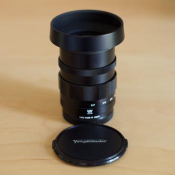 Rent Voigtlander Nokton f0.95 Prime Lens 25mm for Micro Four Thirds Mount