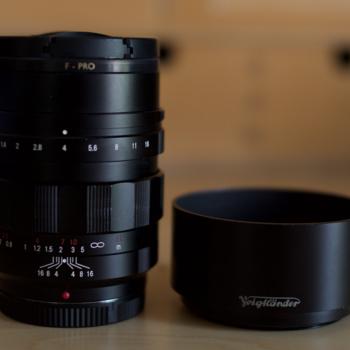 Rent Voigtlander Nokton f0.95 Prime Lens 42.5mm for Micro Four Thirds Mount