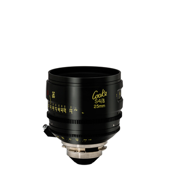 Rent Cooke 25mm T2.8 mini S4/i Cine Coated Lens
