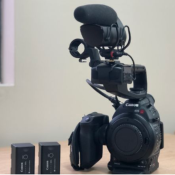 Rent Canon C100 Run and Gun PKG with shoulder rig
