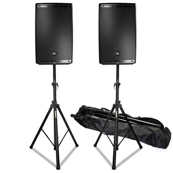"Rent (2) 15"" Speakers + 18"" Subwoofer + 10 Channel Mixer + (2) Microphones + Lighting"