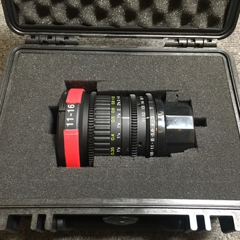 Rent Tokina 11-16mm T3 Newest Zoom in PL Mount