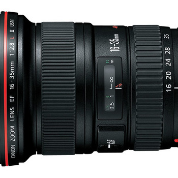 Rent Canon 16-35mm f2.8 ii wide angle lens - L series
