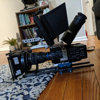 Rent High Speed Fs700R 4k RAW ready shoots up to  960fps