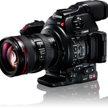 Rent C300 Mark II 4K Camera  Package with Canon Lens and Sachtler Tripod