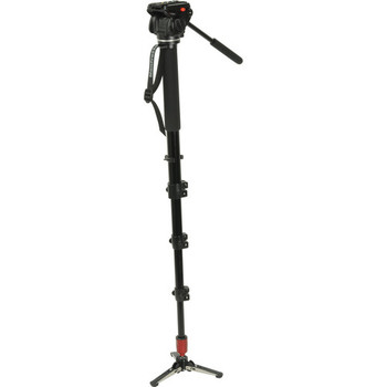 Rent Manfrotto 561BHDV-1 Fluid Video Monopod with Head