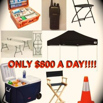 Rent LARGE Production Package - ONLY 800!!!
