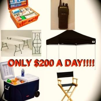 Rent SMALL Production Package - ONLY $200 !!!