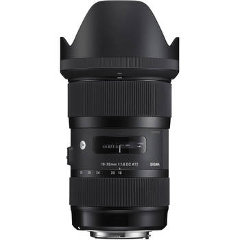 Rent Sigma 18-35mm f/1.8 DC HSM Art Lens for Canon