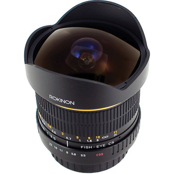 Rent Rokinon 8mm Ultra Wide Angle f/3.5 Fisheye Lens for Canon EF Mount
