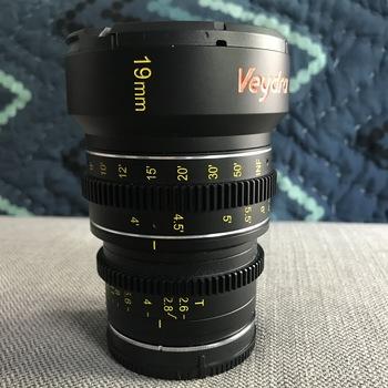 Rent Veydra 19mm wide angle sony e mount cinema mini prime