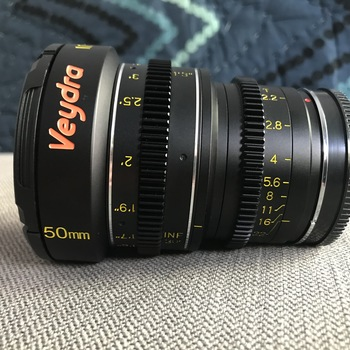 Rent veydra 50mm telephoto cinema mini prime