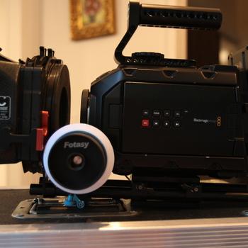 Rent Ursa Mini 4K EF with Battery, Card, Lenses