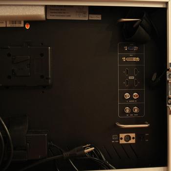 "Rent Delvcam 28"" Quadview monitor"