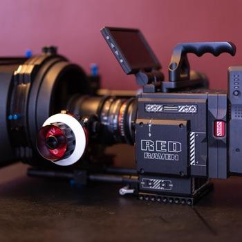 Rent Red Dragon 4.5K w/ Vintage Lenses, Tripod & Shoulder Rig