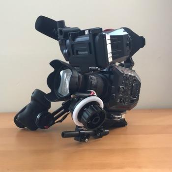 Rent Panasonic AU-EVA1 Shoulder kit