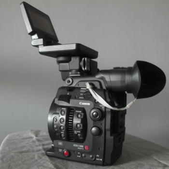 Rent Canon EOS C300 Mark II EF Mount (w/ batts & media)