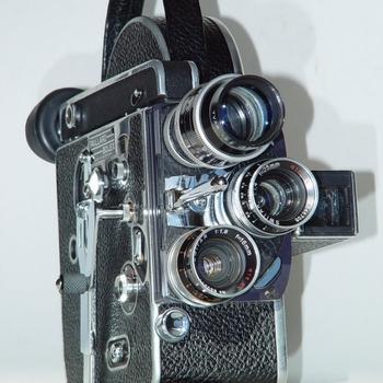Rent Bolex H-16 16mm camera w/ 3 fast prime lenses 12,16,50 f/1.4