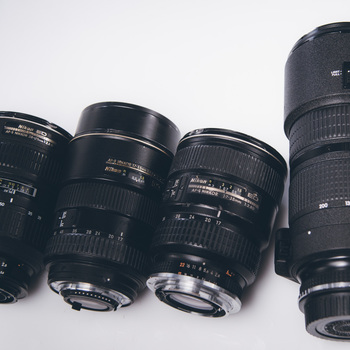 Rent Nikon AF-S Zoom-NIKKOR Kit - 16-35, 24-70, 80-200