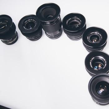 Rent Canon FD Vintage Lens Set - Poor Man's Canon K35