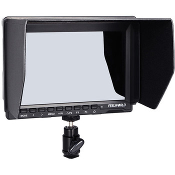 "Rent FeelWorld FW759 7"" IPS HDMI On-Camera Monitor with Sunshade and HDMI Lock"
