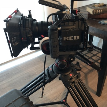 Rent RED Scarlet Dragon 6k with three lenses