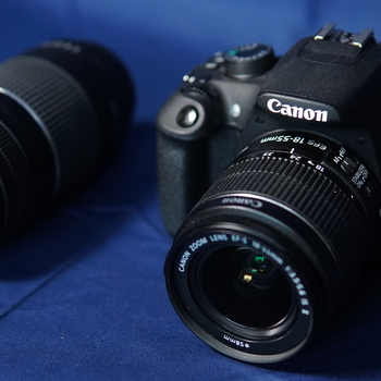 Rent Canon Rebel T5 with two Canon lenses
