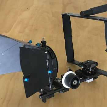 Rent Camera rig  with Mattebox and Follow Focus