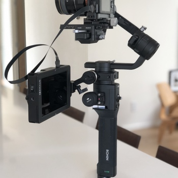 Rent Ronin S with Monitor, Mount and Monopod