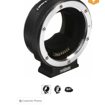Rent Metabones Canon EF to Sony E-Mount