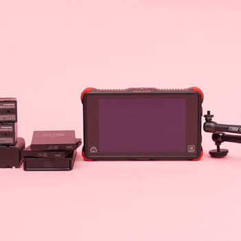 """Rent Atomos Ninja Flame 7"""" 4K HDMI Recording Monitor with Articulating arm and 2 ssd cards"""