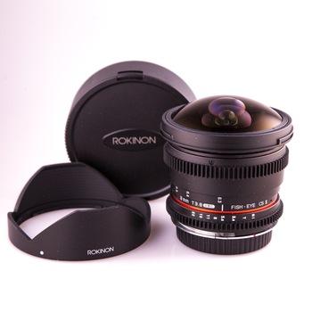 Rent Rokinon 8mm Fisheye T3.8
