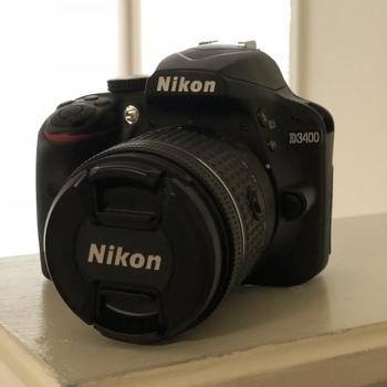 Rent Nikon D3400 w/AF-P NIKKOR 18-55mm Lens