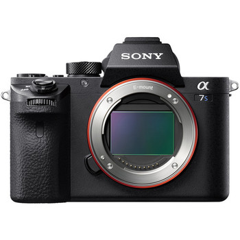 Rent Sony A7Sii with SD cards, Metabones EF Speed Booster, Sony battery grip and six batteries.