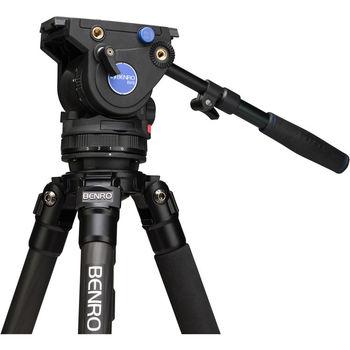 Rent Benro BV6 Carbon Fiber Video Tripod Kit