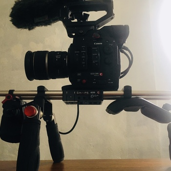 Rent Shape Canon C100 C300 C500 Shoulder Mount