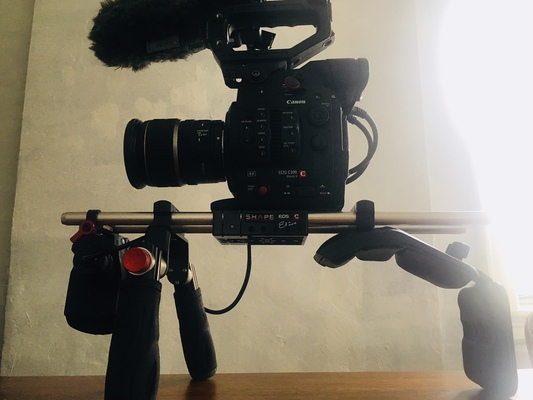 Rent A Shape Canon C100 C300 C500 Shoulder Mount In Brooklyn