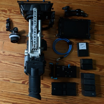 Rent FS700R 4K Sensor High Speed FS Series Camcorder Body with Shogun Inferno