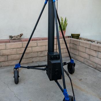 Rent Mole-Richardson Molevator AC/DC Wheeled Stand (11')