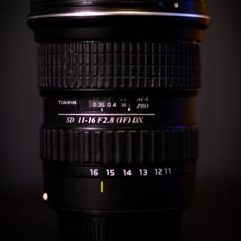 Rent Tokina 11-16mm  DX II F2.8 with EF Mount