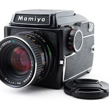Rent Mamiya m645 medium format film camera with 80mm f/2.8 lens (no film included)