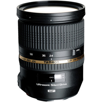 Rent Tamron 24-70mm f/2.8 Lens with Zomei Variable ND Filter