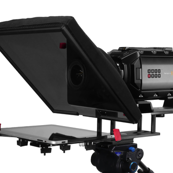 Rent iPad Teleprompter system from People Prompter Brand - super easy to rig!