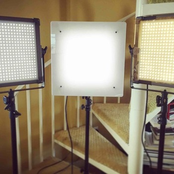 Rent (3x) F& V 1x1 LED Light Panels