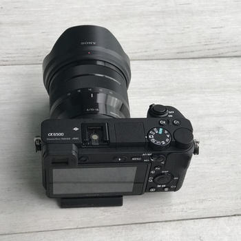 Rent Sony A6500 4K camera with 10-18mm f/4 lens